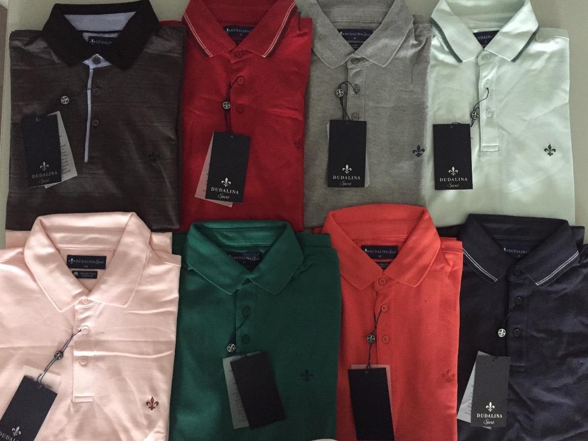 camisa polo dudalina original cores frete gratis p m g gg. Carregando zoom. 931c3faae25d7