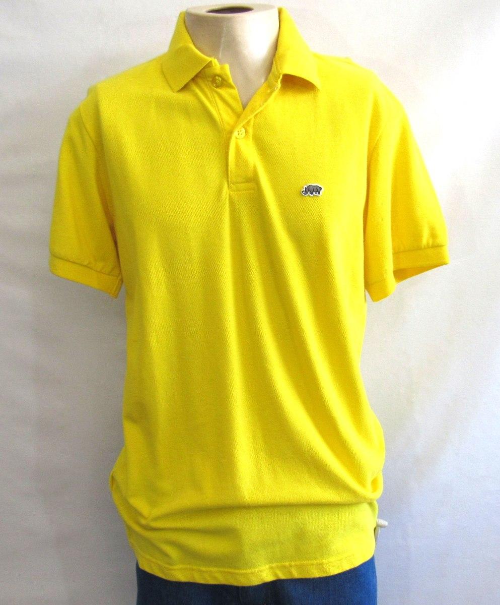 camisa polo ecko unltd amarela importada original tamanho g. Carregando zoom . 7821885ed2d71