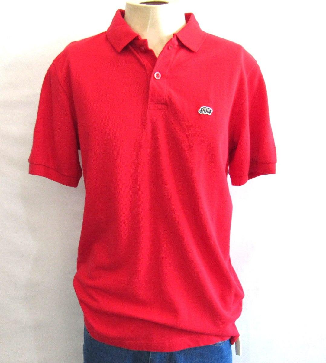 camisa polo ecko unltd vermelha importada original tamanho g. Carregando  zoom. 4e41dc485a0dd