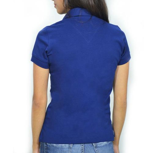 camisa pólo feminina