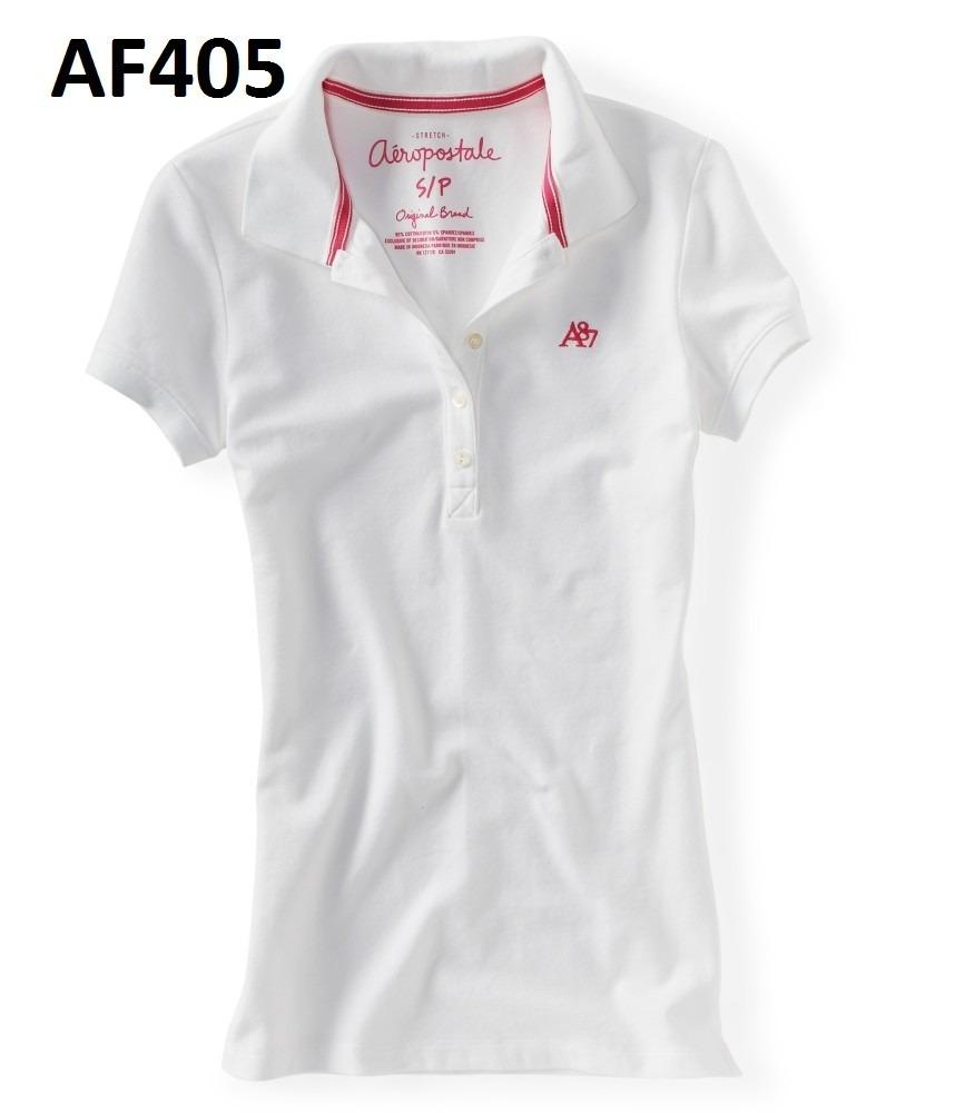Camisa Polo Feminina Aeropostale 086e246bb2b0d