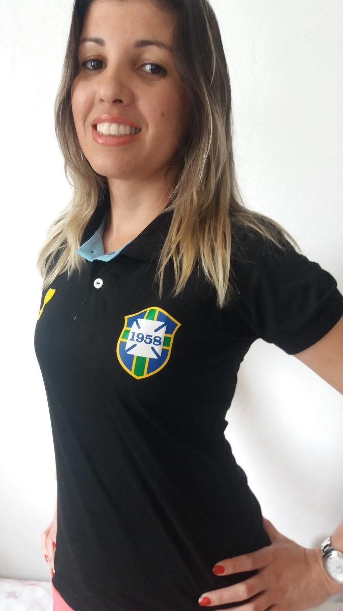 d1fa529770 camisa polo feminina baby look brasil. Carregando zoom.