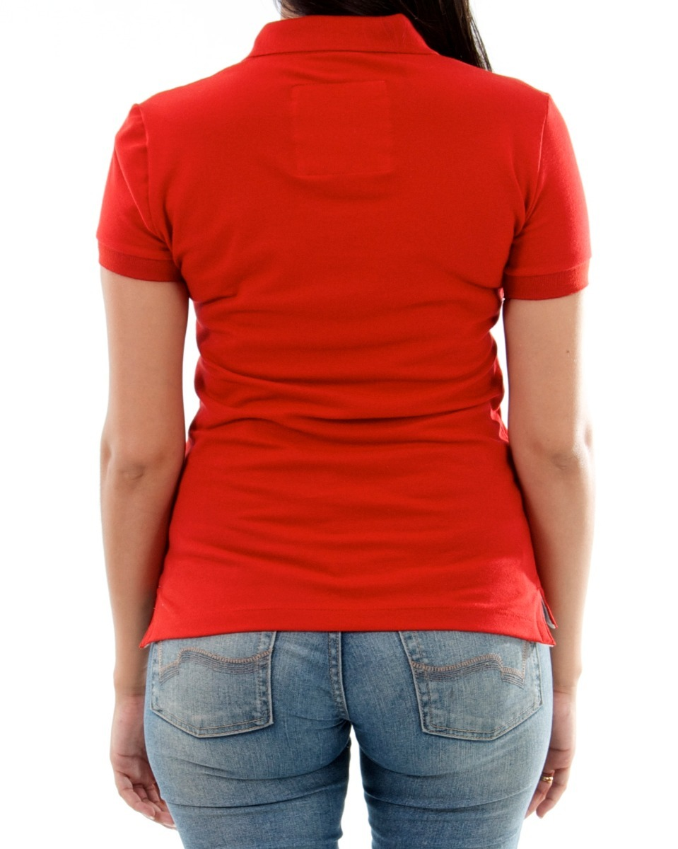 a6711f271 camisa polo feminina branca lisa - p-m-g-gg. Carregando zoom.