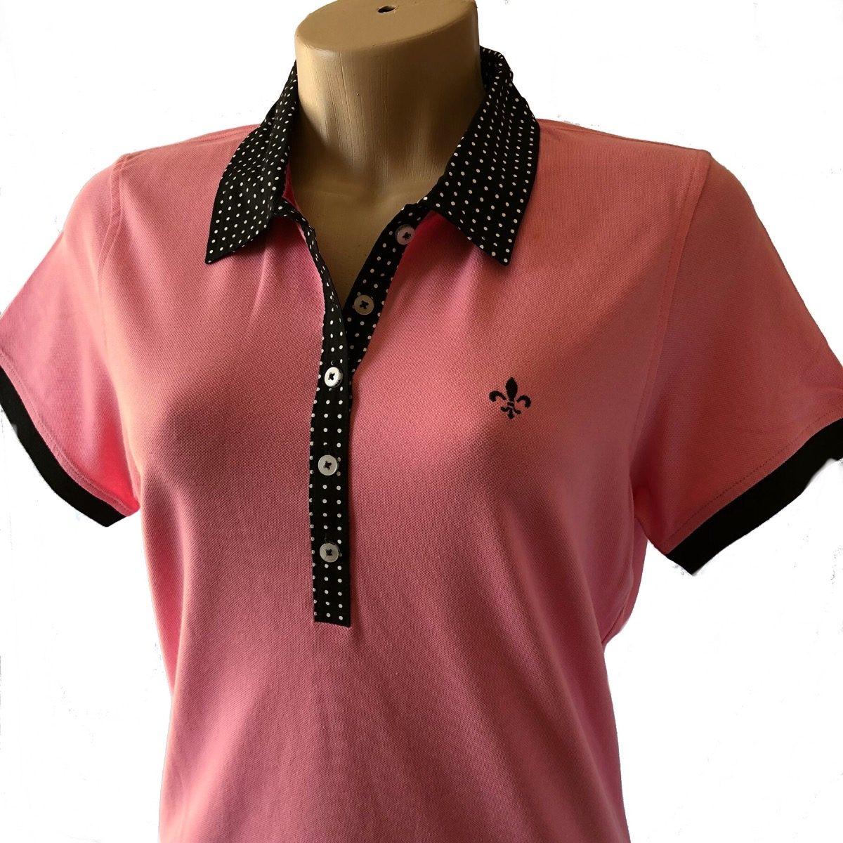 camisa polo feminina dudalina algodão pima original. Carregando zoom. 89dea420422