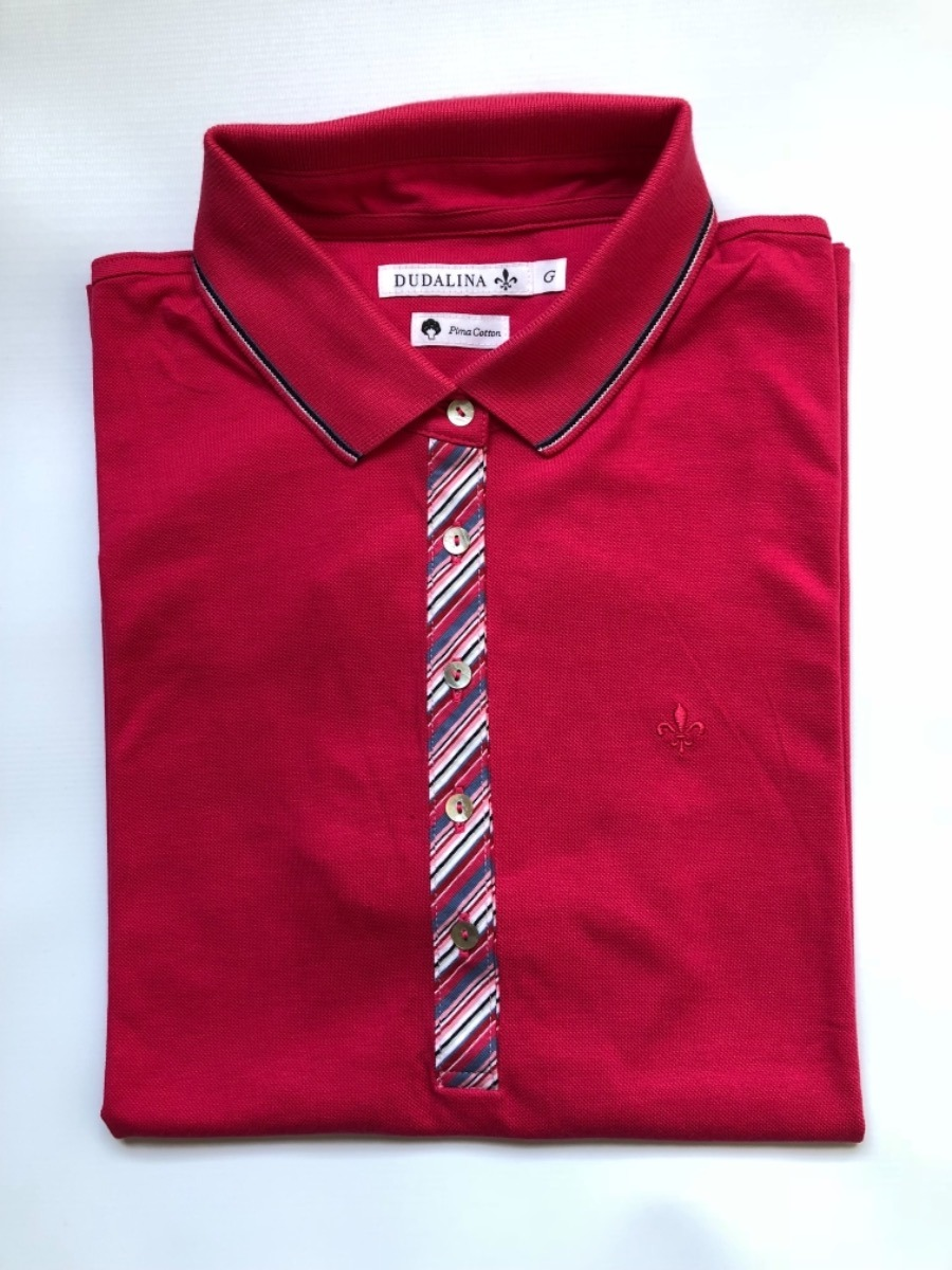 4906901518 camisa polo feminina dudalina algodão pima original. Carregando zoom.