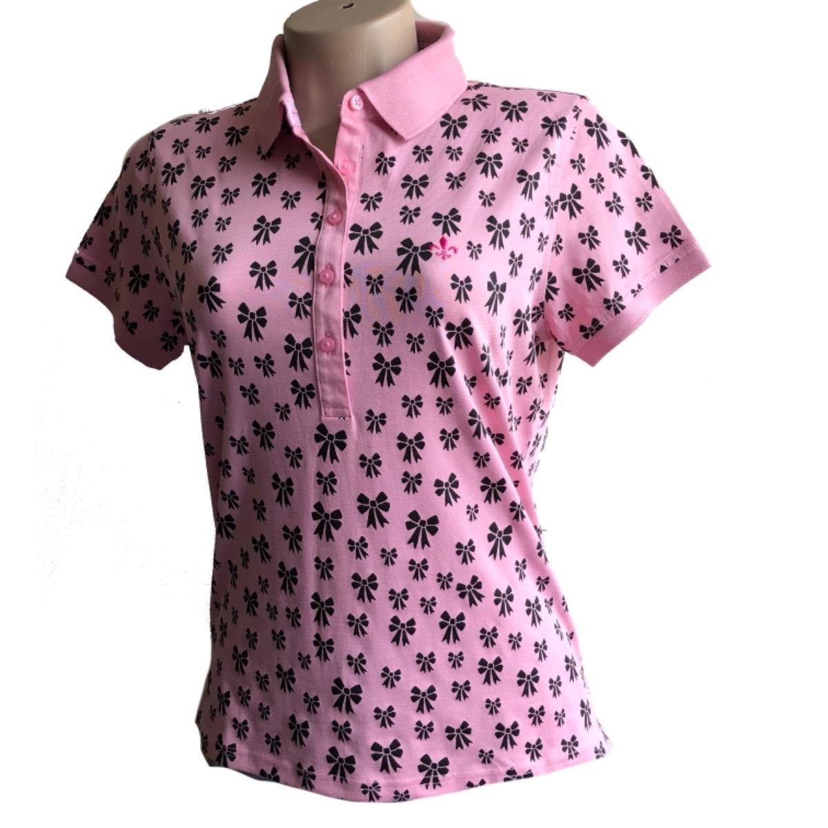 camisa polo feminina dudalina original com pequenos defeitos. Carregando  zoom. 9b3d605ec2f38