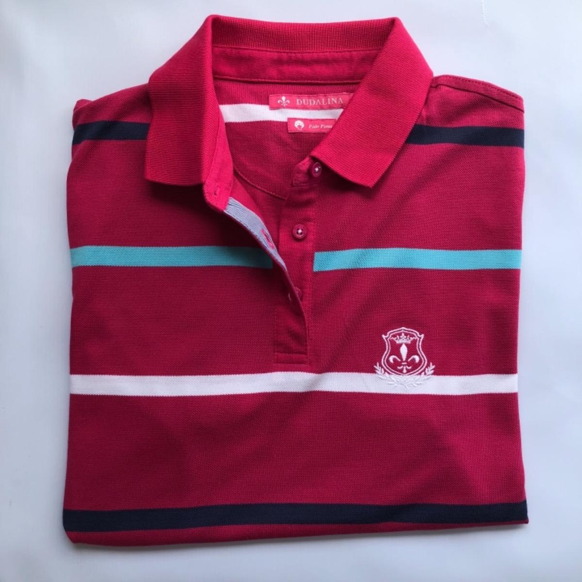 583861614c camisa polo feminina dudalina original importada. Carregando zoom.