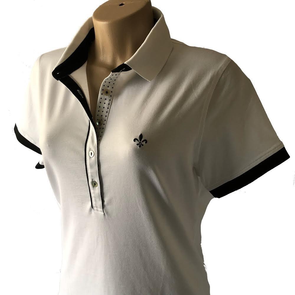 f77dd59ceba62 camisa polo feminina dudalina original vários modelos. Carregando zoom.