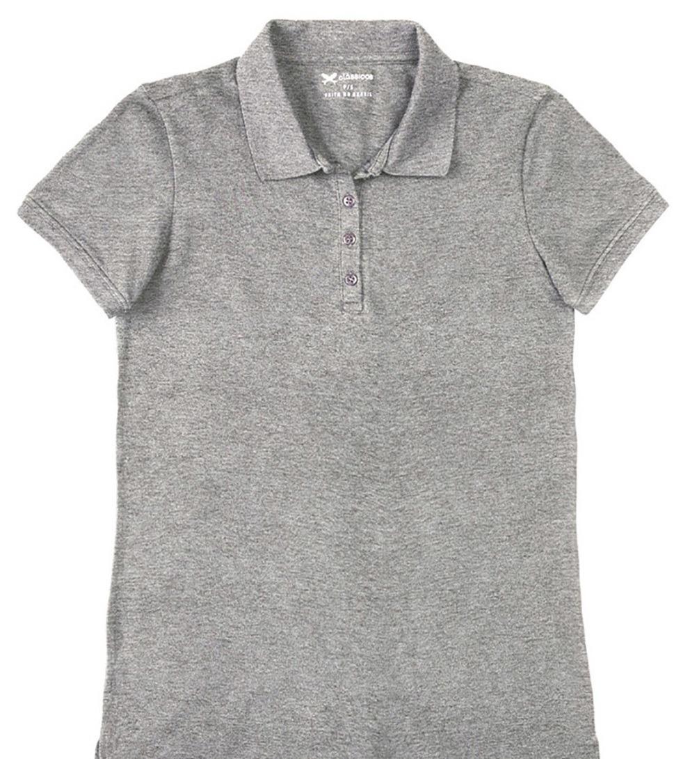 camisa pólo feminina hering básica malha piquê ( n36x )m2h. Carregando zoom. 7bc5566505b7a