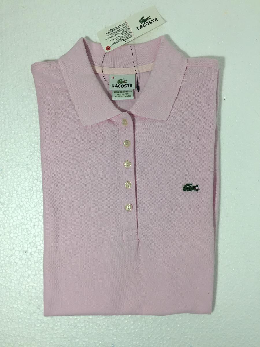 Camisa Polo Feminina Lacoste Importada Pronta Entrega - R  99,90 em ... 45d98f8e7c