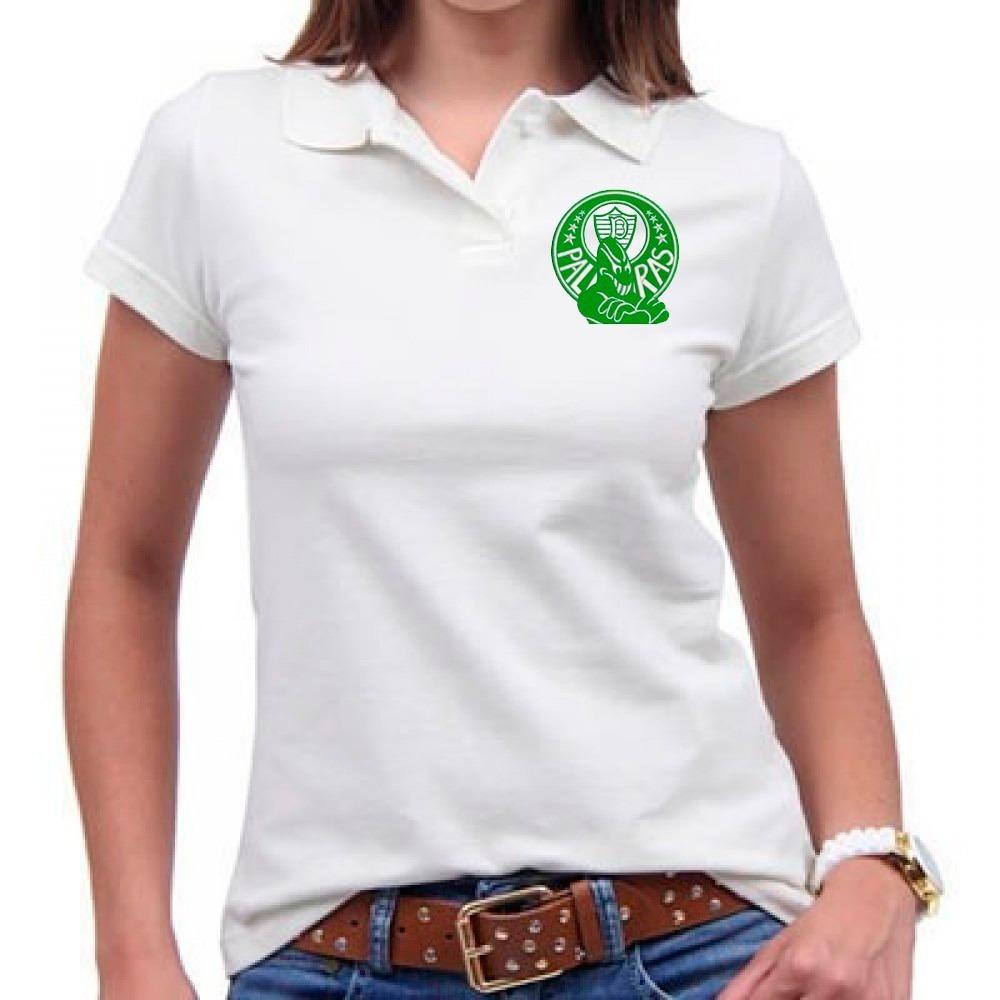 camisa polo feminina mancha verde. Carregando zoom. 9398ffaa6e734