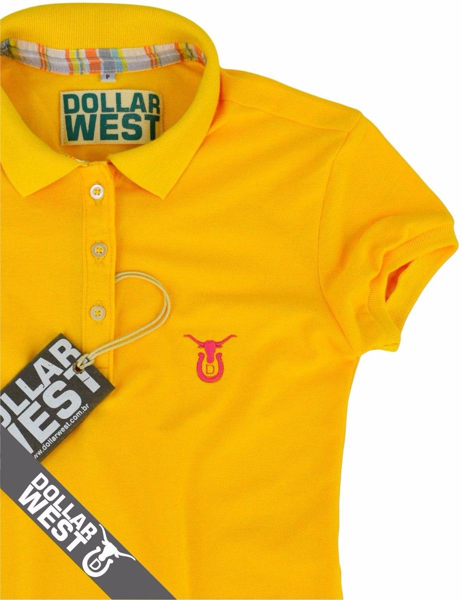 camisa polo feminina moda country cowboy dollar west. Carregando zoom. 478c7acd1fc
