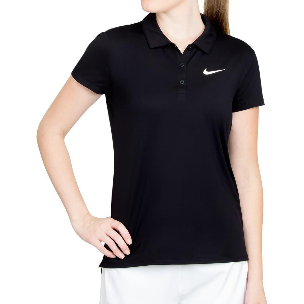 camisa polo feminina nike court pure 830421-010. Carregando zoom. 3ee8f242f3647