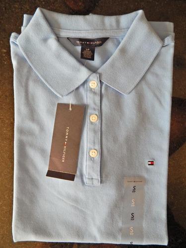 camisa polo feminina original, marca: tommy hilfiger