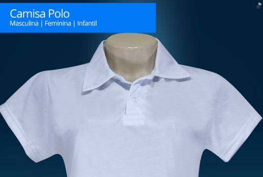 3bf4f51481 Camisa Polo Feminina P  Sublimação 100% Poliéster-lote 10 Pç - R ...
