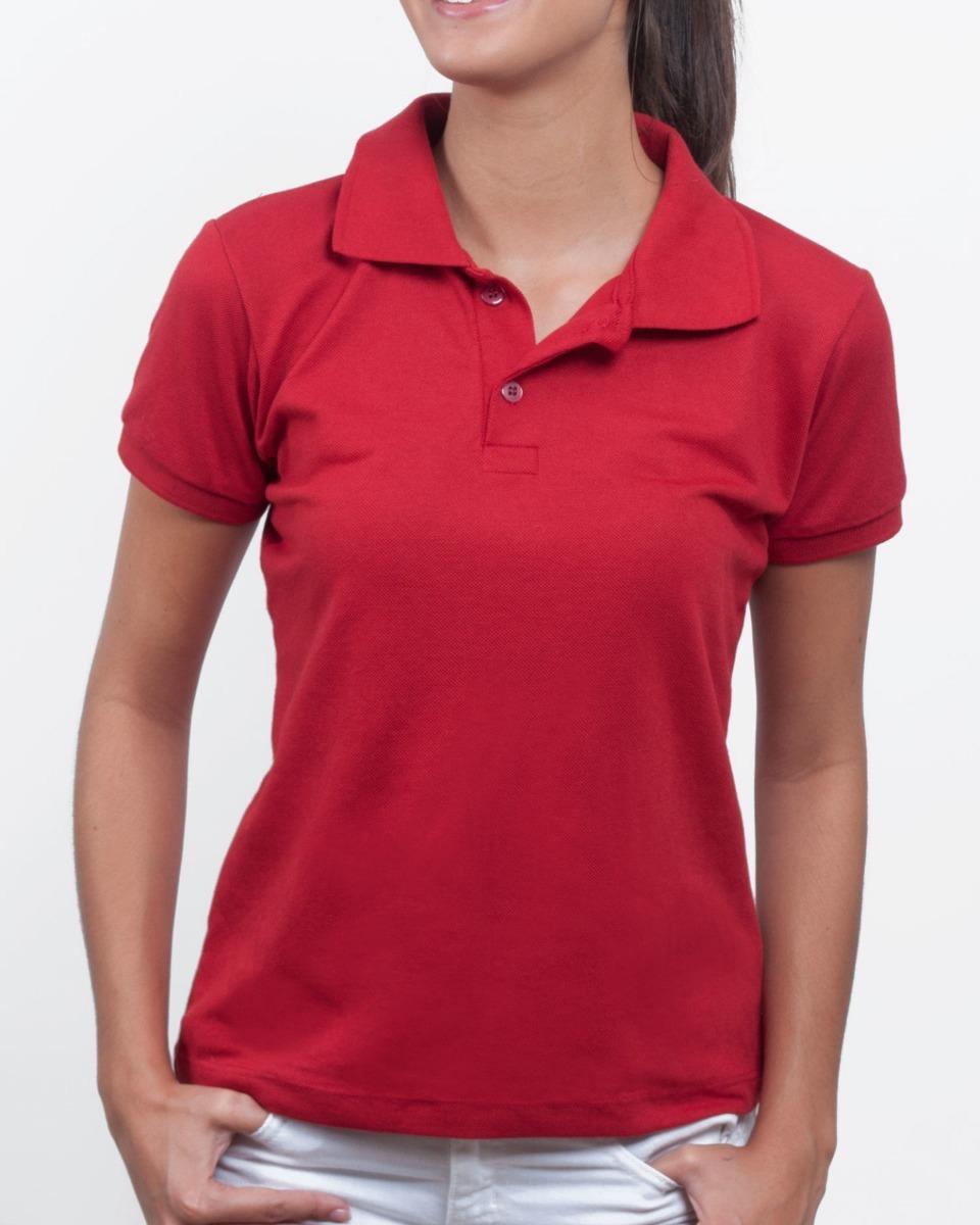 e9d2e3b486 camisa polo feminina piquet sem bolso para trabalho. Carregando zoom.