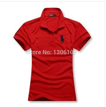 Camisa Polo Feminina Ralph Lauren Pronta Entrega - R  29 9bb57739662
