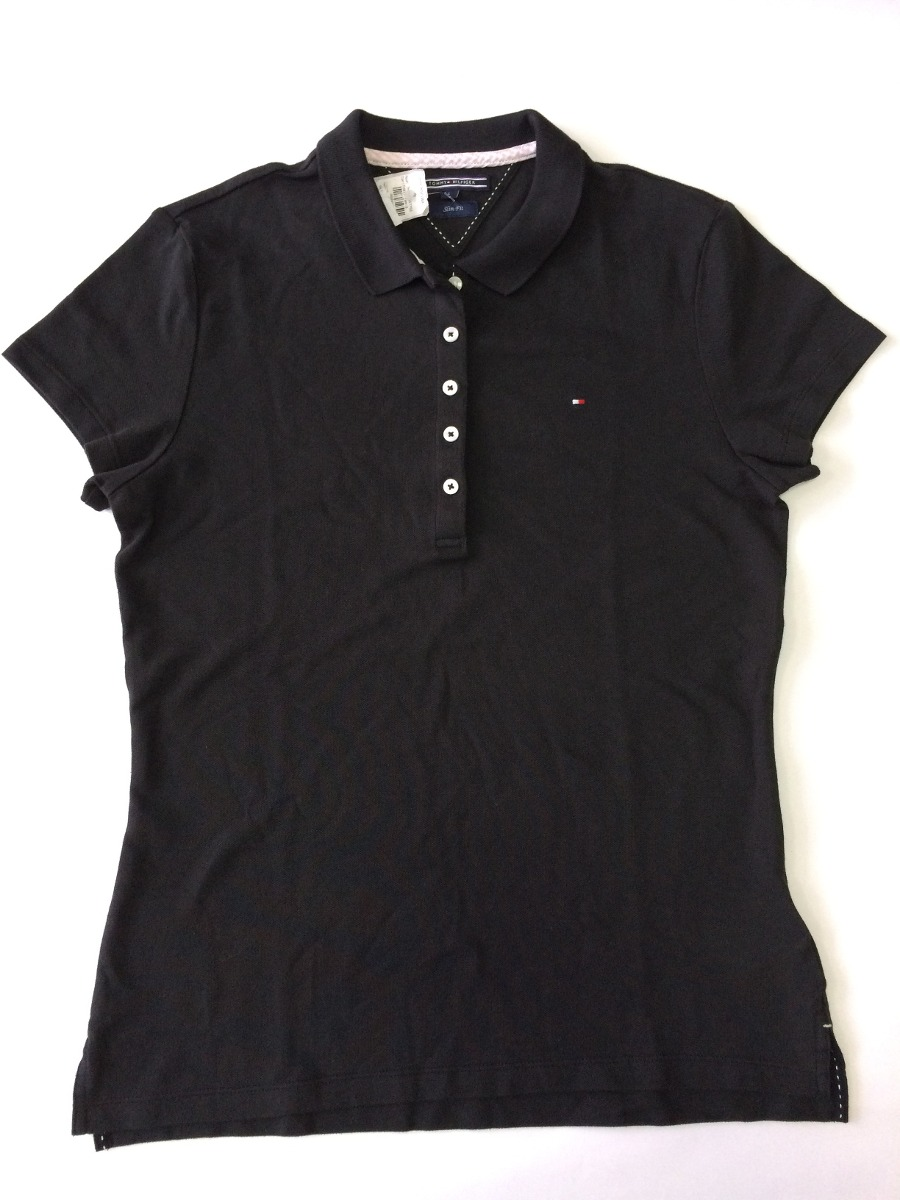 camisa polo feminina tommy hilfiger original. Carregando zoom. 2e4aac06eb070