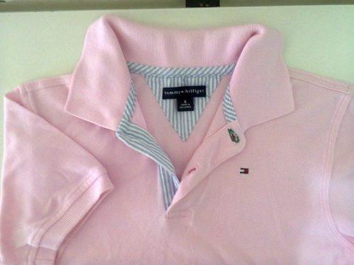 a3306c205f Camisa Polo Feminina Tommy Hilfiger Qualidade - R  27