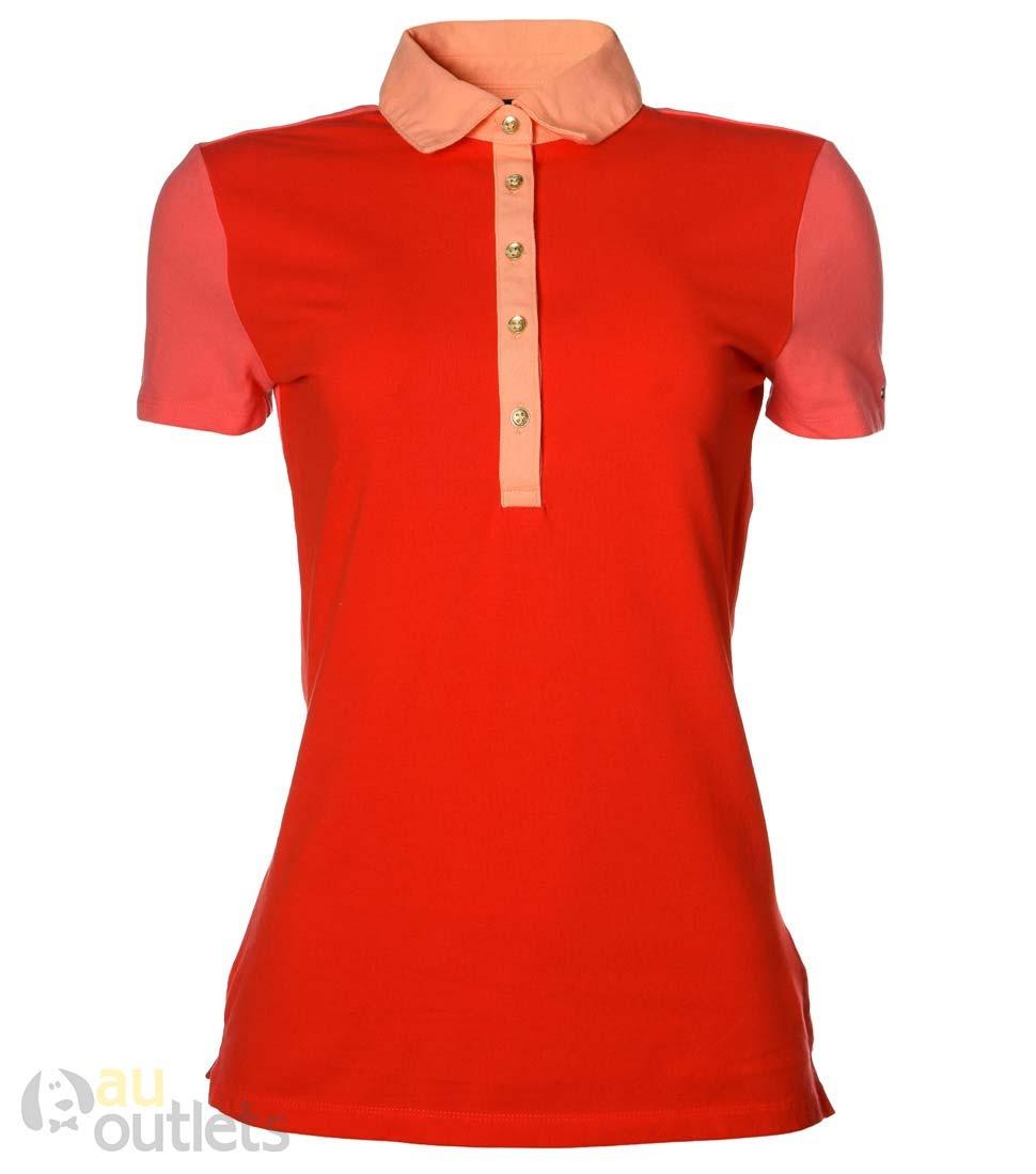 camisa polo feminina tommy hilfiger serenata sole. Carregando zoom. 51cbc866244d2
