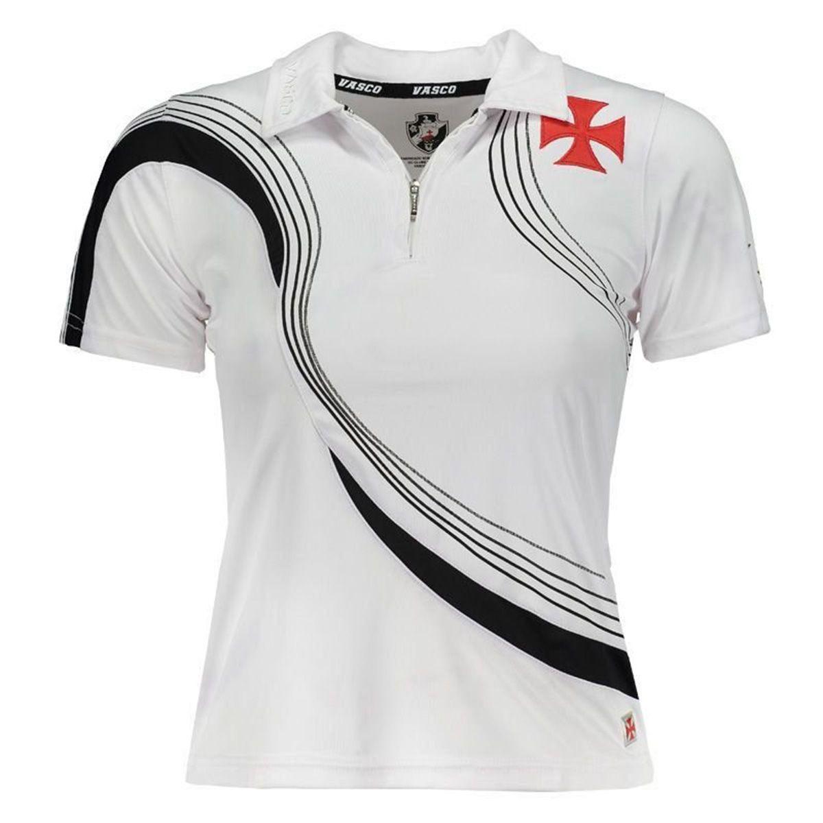 dc3c37de198c2 camisa polo feminina vasco da gama logo lateral oficial +nf. Carregando  zoom.