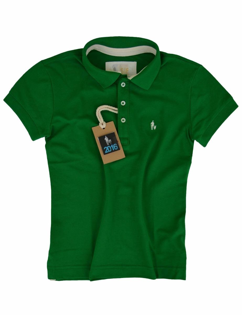 daa8574a68 camisa polo feminina verde bandeira original sheepfyeld. Carregando zoom.
