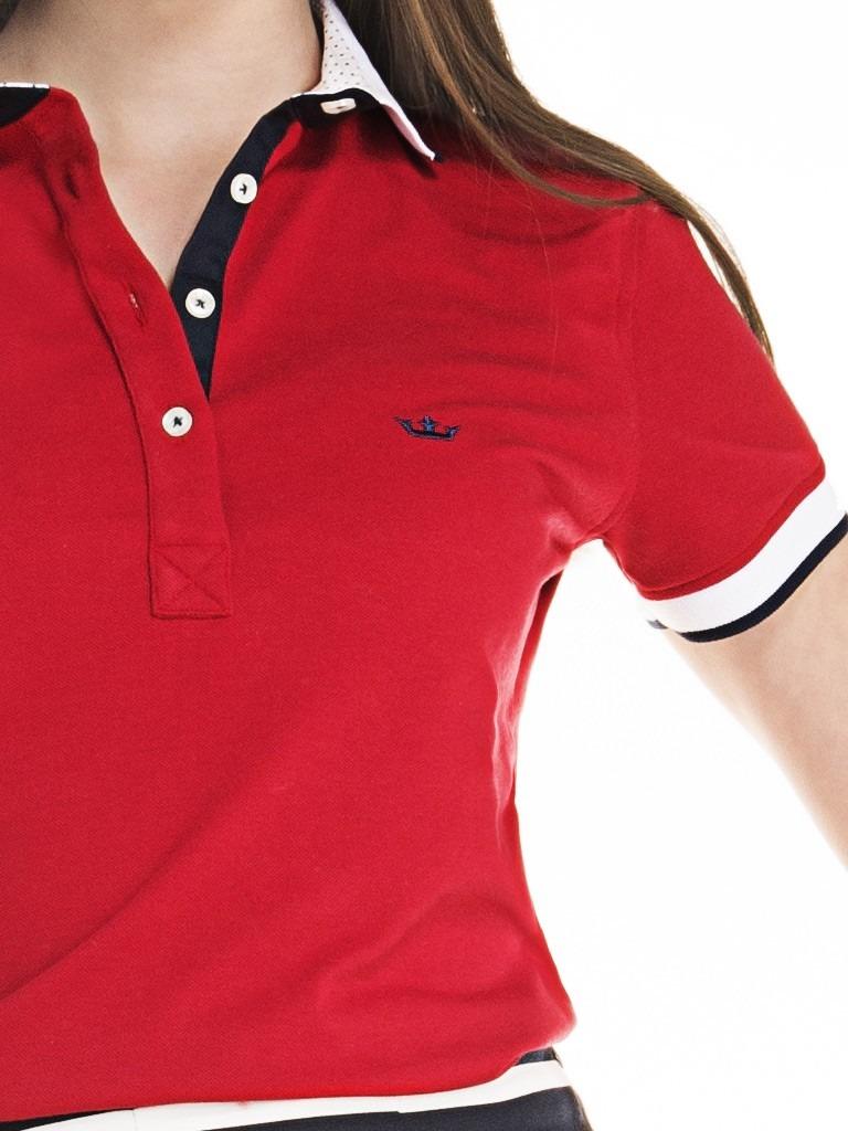 Camisa Polo Feminina Manga Curta Feminino Camisas No Mercado 9d39ee022ed7d