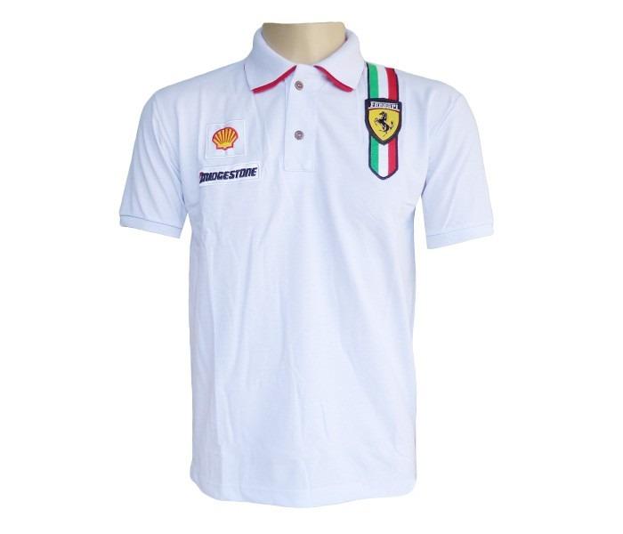 5ccb410790 Camisa Polo Ferrari - Edição Limitada!!! Mega Oferta!!! Top! - R  99 ...