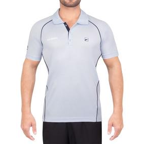 9a887eb6f6 Camisa Polo Masculina Fila no Mercado Livre Brasil