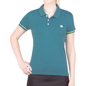 c5e8e4bf78 Camisa Pólo Masc. Fila Africa Do Sul Verde - Pólos Manga Curta no ...