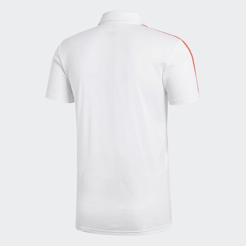 camisa polo flamengo adidas original viagem branca 2018. Carregando zoom. 4fdf596f675c0