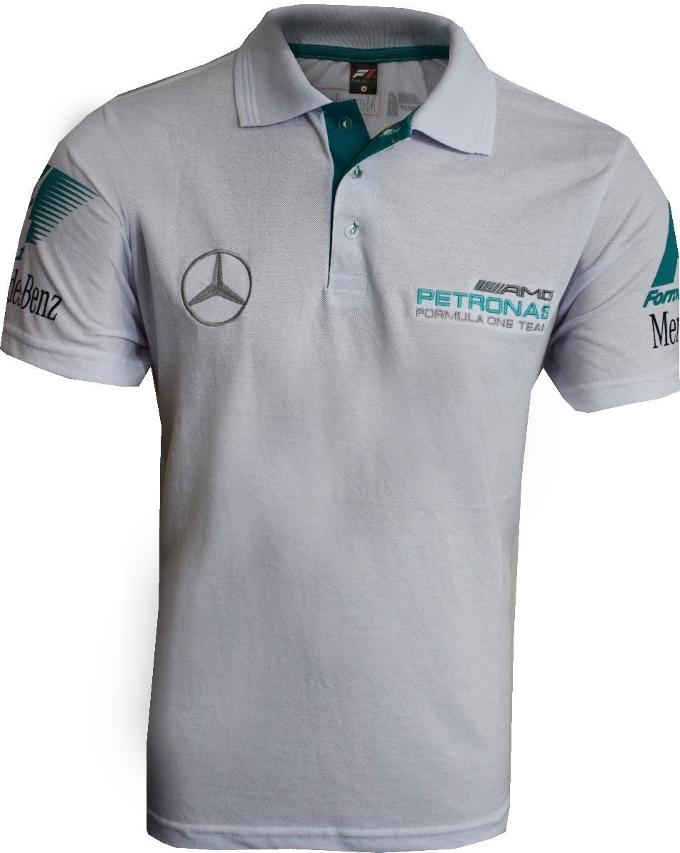 Camisa Polo Formula 1 Ferrari Mercedes Rbr Mclaren 5 Pçs - R  239 c999a4769fcb2