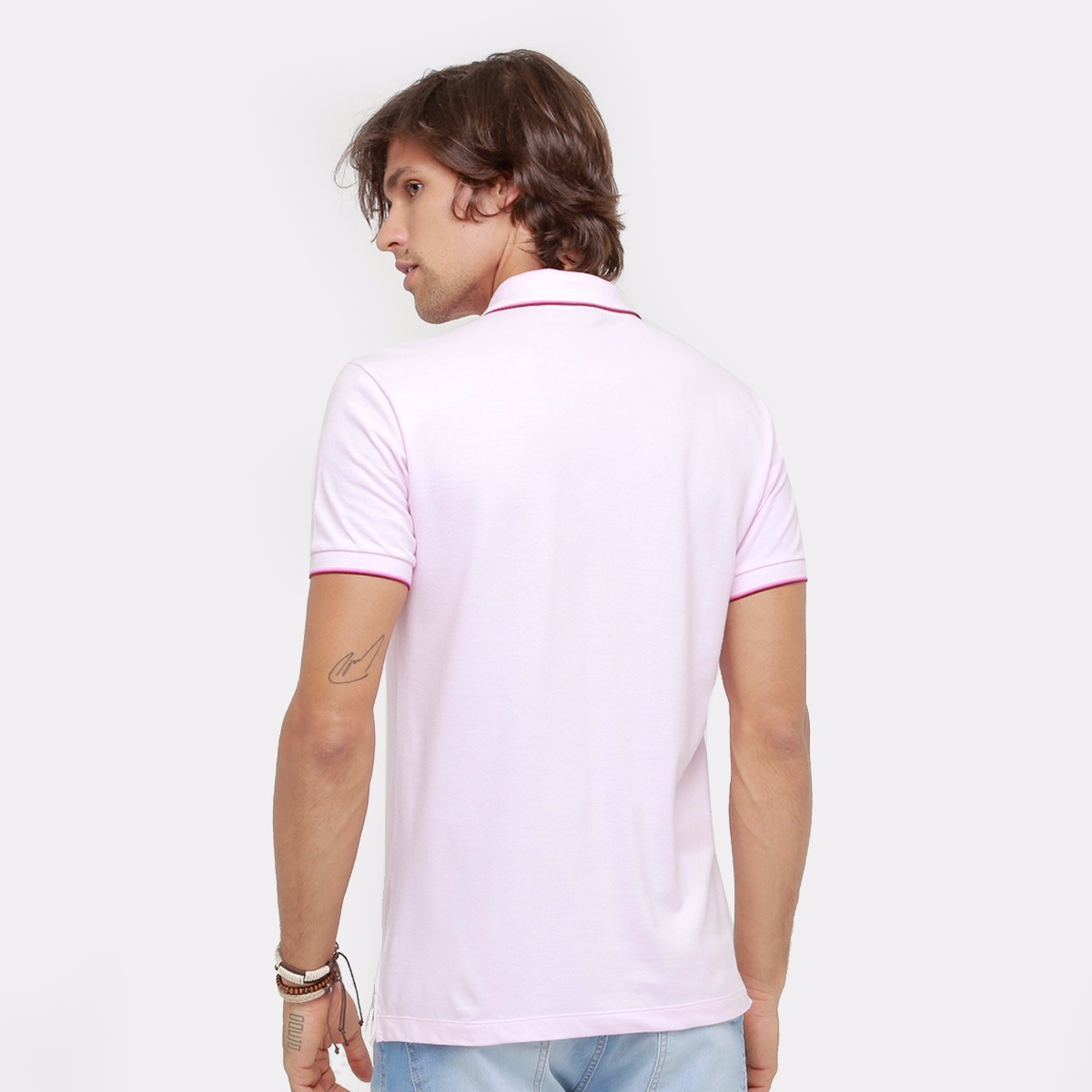 0032ad1cbd camisa polo forum piquet básica masculina. Carregando zoom.