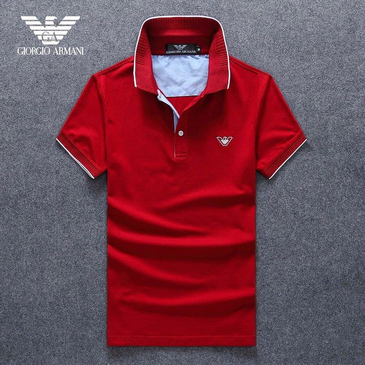 f662f4a1362 Camisa Polo Giorgio Armani Slim Fit Masculino - Original - R  110