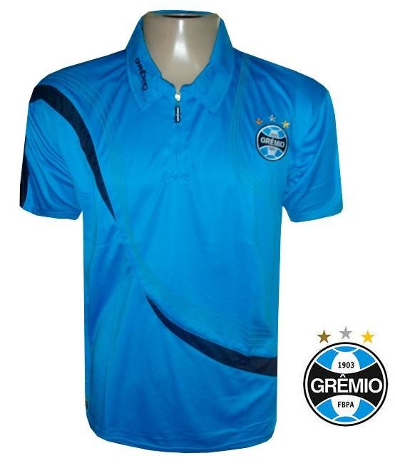Camisa Polo Gremio - Modelo Oficial De Passeio - R  69 90faf3f8aa361