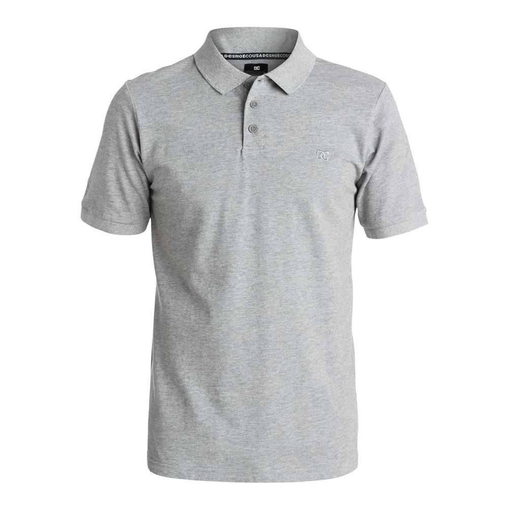 Camisa Polo Gris Manga Corta Holborn Hombre Dc Shoes -   719.20 en ... 4eac486f0397c