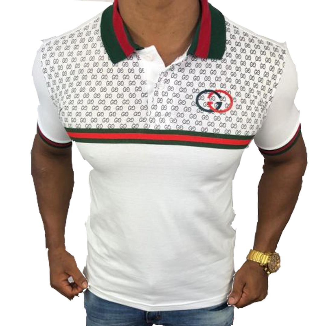 65a2f6dcd85 camisa polo gucci masculina original nova frete grátis 2019. Carregando zoom .