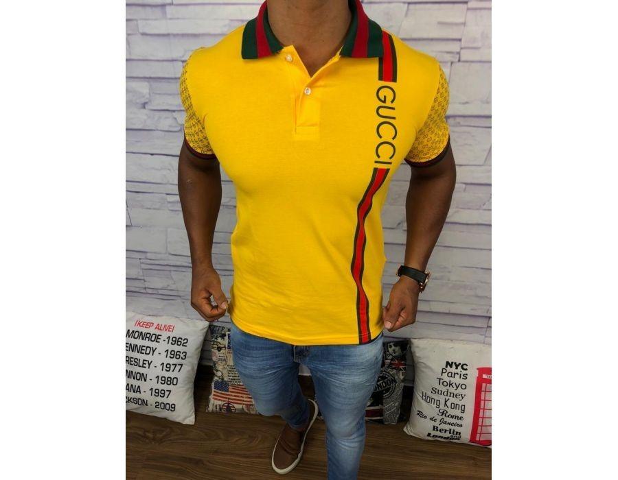 4104ccb9d1f camisa polo gucci masculina original nova frete grátis. Carregando zoom.