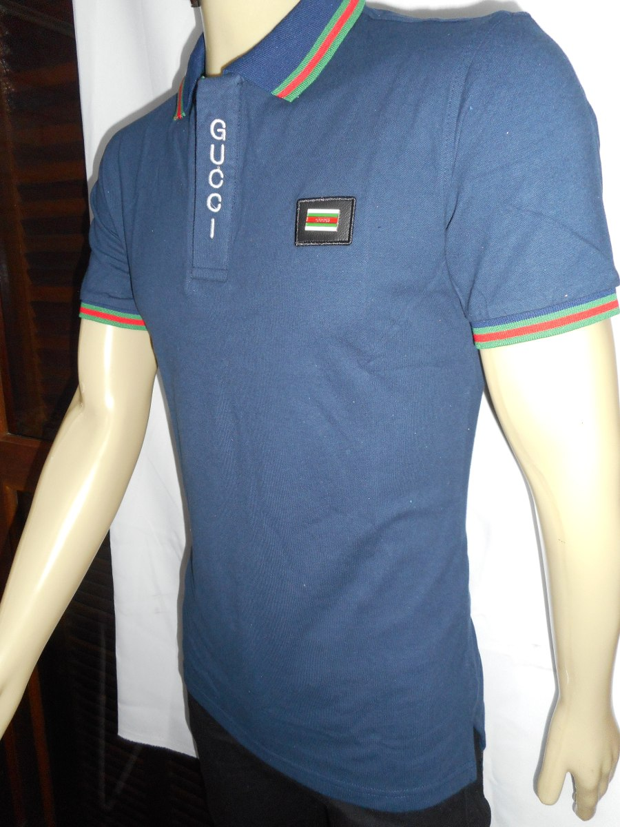 ba9dadd8a410c camisa polo gucci slim fit masculino - original pta. entrega. Carregando  zoom.