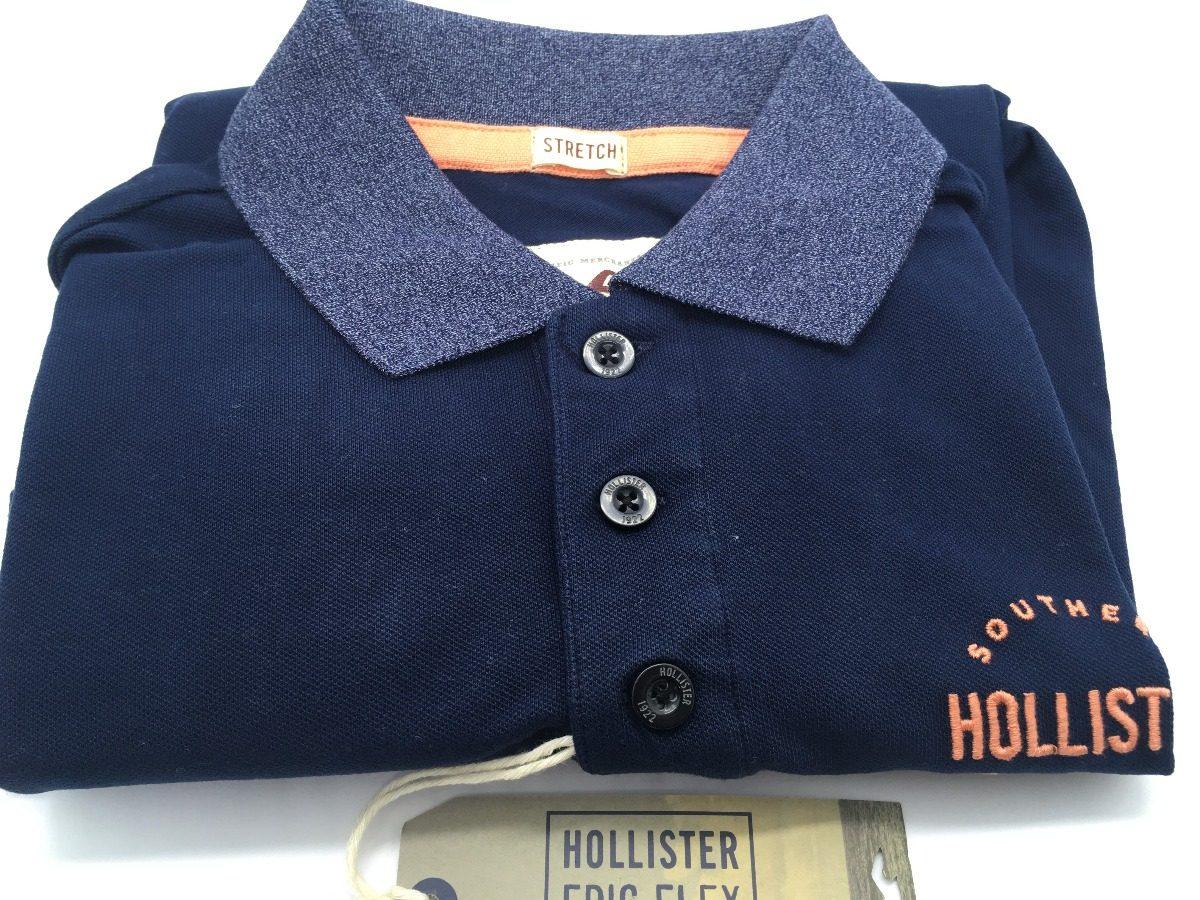 camisa polo hollister 100% original importada estados unidos. Carregando  zoom. f10f758ee7