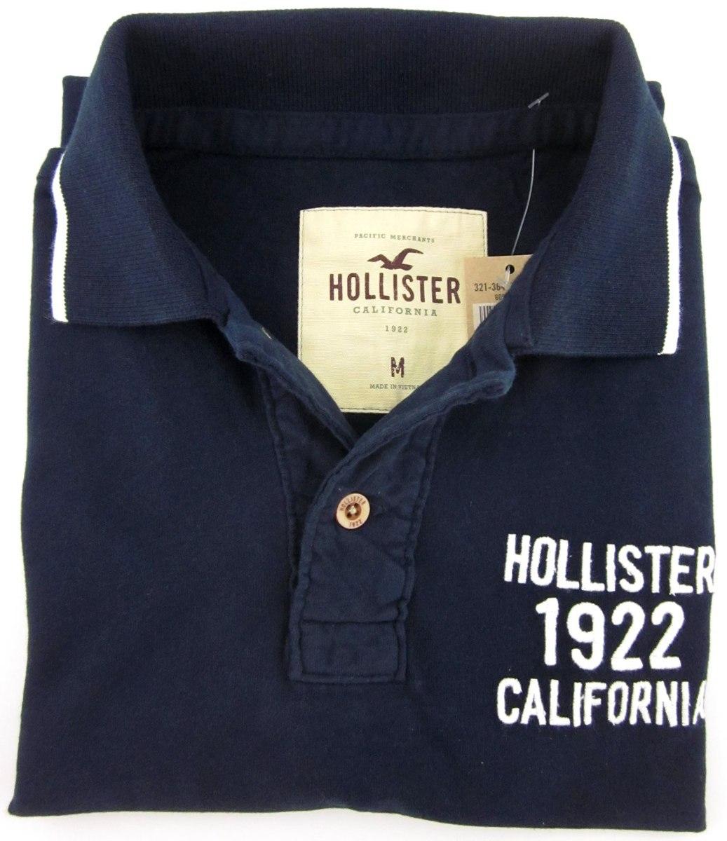 camisa polo hollister importada usa 100% original p m g gg. Carregando zoom. b4cde7eb2b58f