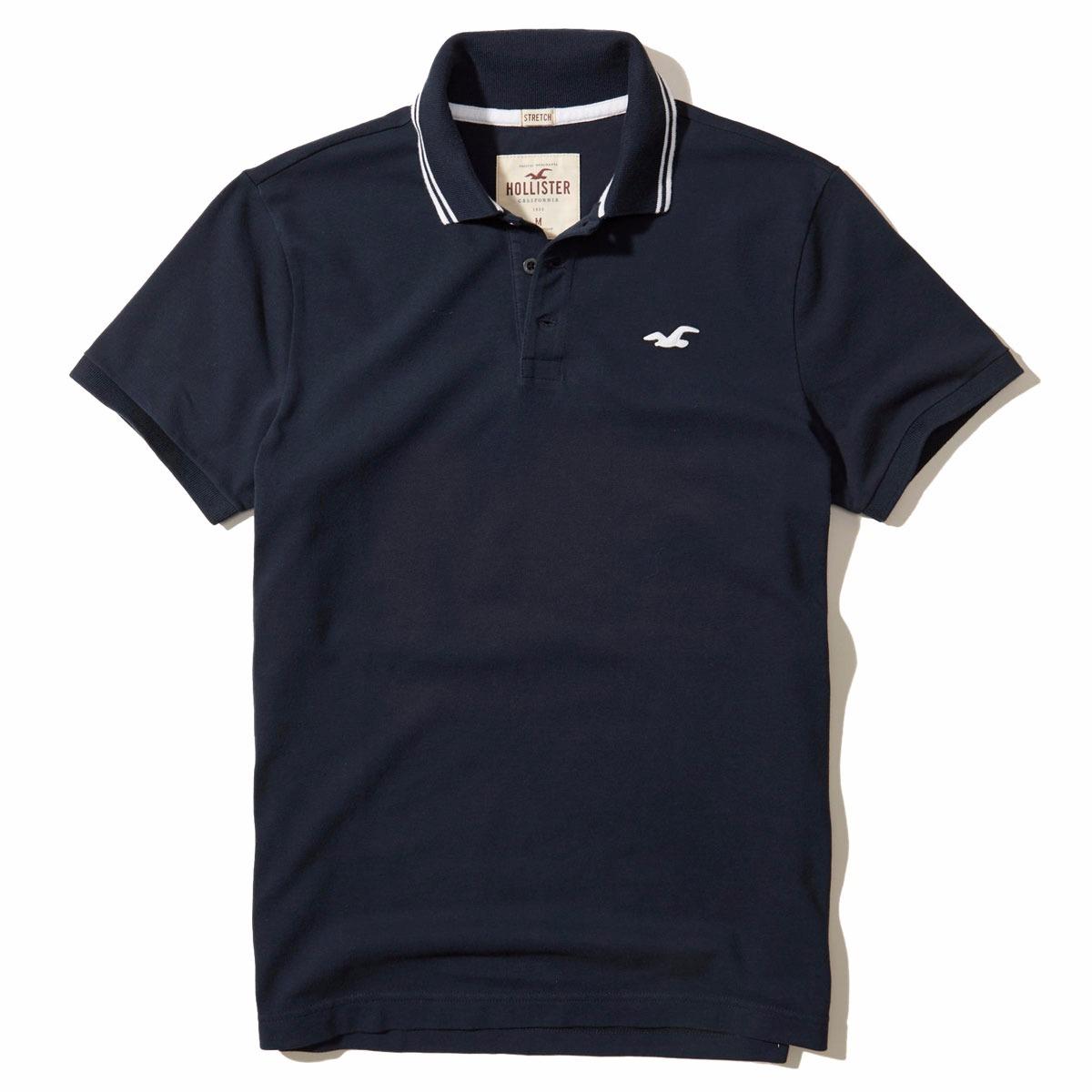 8b259a3806 camisa polo hollister masculina - 100% original - tam m - p2. Carregando  zoom.