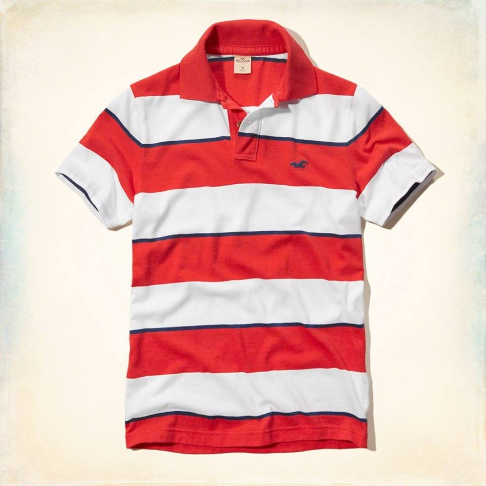 Camisa Polo Hollister Masculina Original - R  96,93 em Mercado Livre 7d8127d5cb