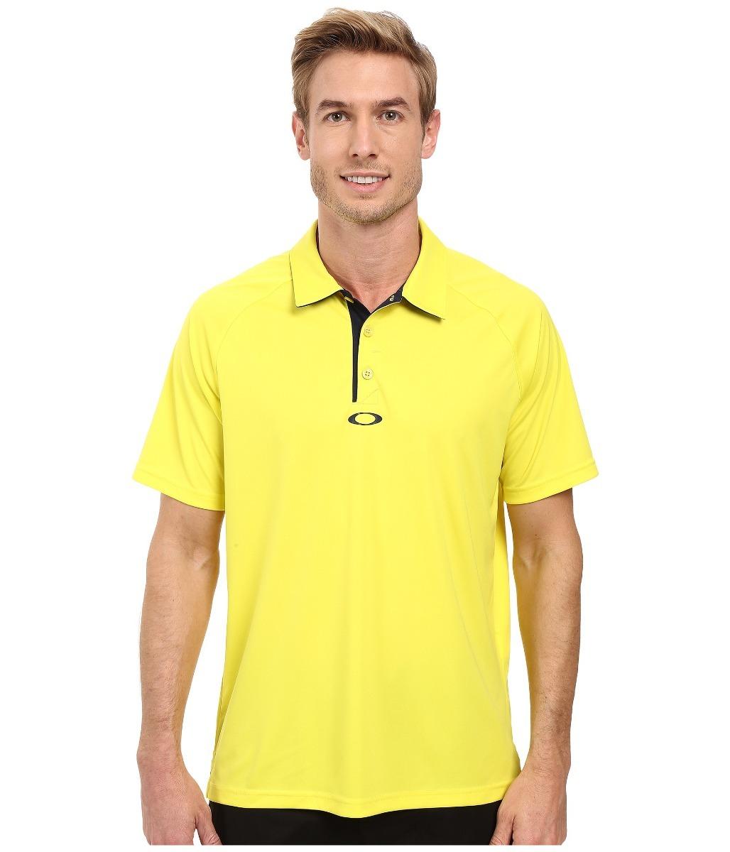 Camisa Polo Hombre Oakley Golf Amarilla Talla Grande Nueva ... 71280d5b5bd