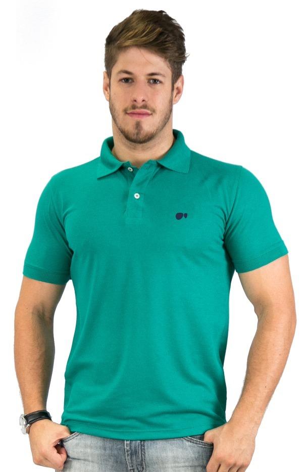 5525ec0092 camisa polo hugo blanc plus size piquet verde chiclete - 700. Carregando  zoom.