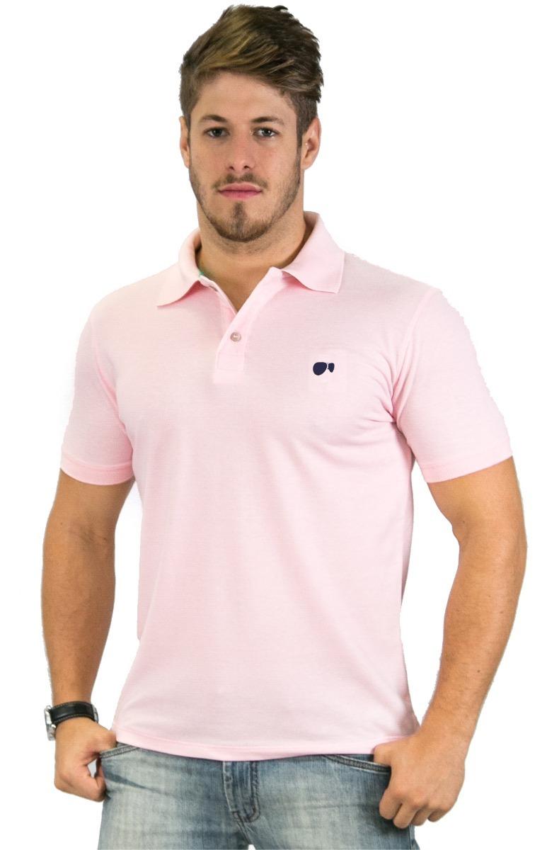 665fd76091 camisa polo hugo blanc tamanhos especias piquet rosa bebe -. Carregando  zoom.