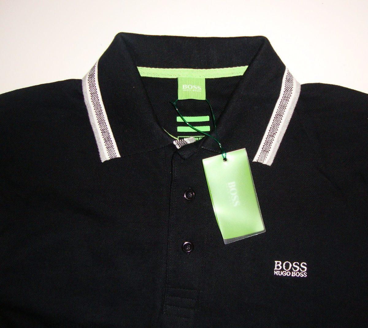 camisa polo hugo boss 100% original - produto inglês. Carregando zoom. 224c3fe966e