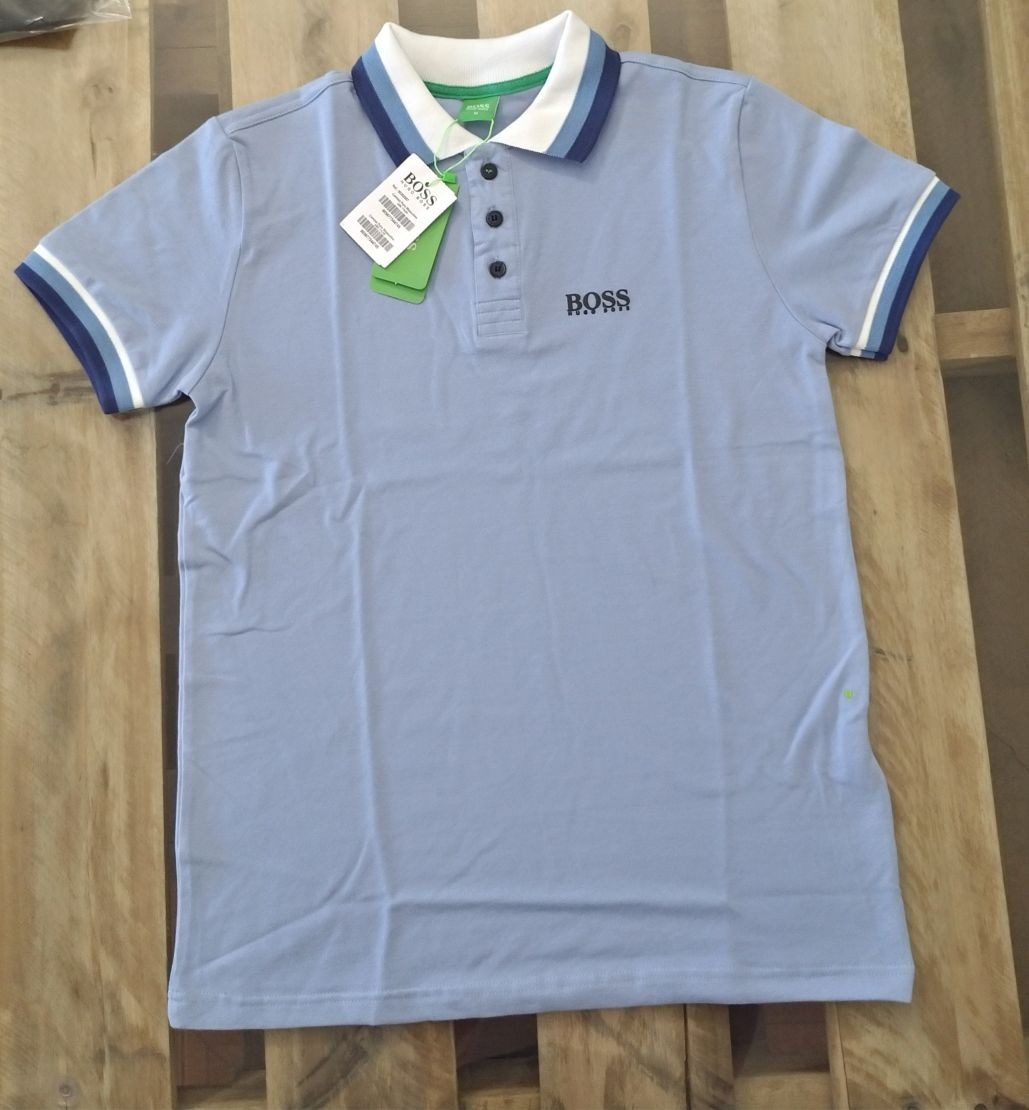 Camisa Polo Hugo Boss Importada Peruana Emborrachada - R  64 876eb4f4c74