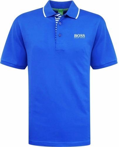 ... Camisa Polo Hugo Boss Lisa Azul Royal Masculina Frete Grátis - R 88 . 50baae1291d91