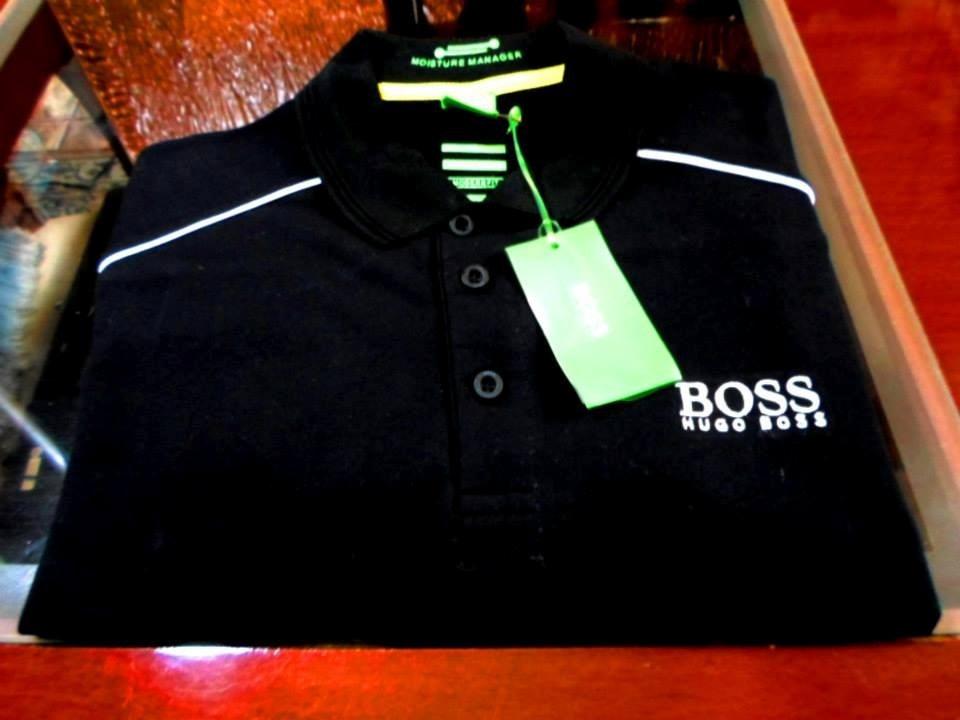 camisa polo hugo boss - original fotos reais do produto. Carregando zoom. f3a9c9b1c56